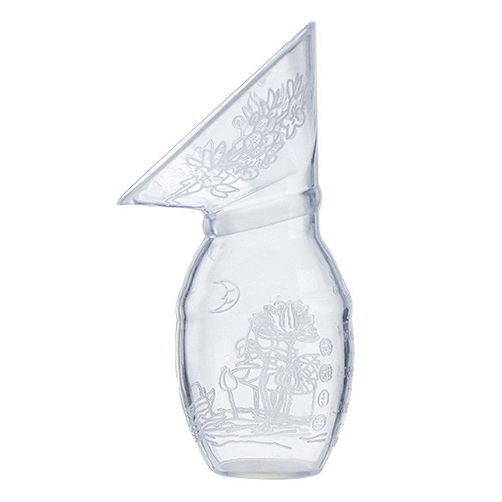 Zerlar Manual Breast Pump BPA-free Material Safety (Vase Shaped 100ml)