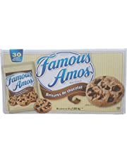 Famous Amos Chocolate Chip Cookies 30 X 56 Grams Net Wt 1.68 Kg, 1680 Grams