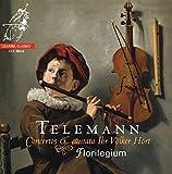 Telemann: Concertos & Cantata Ihr Volker Hort [Includes bonus Florilegium 25th Anniversary disc]