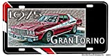 1975 Ford Gran Torino Aluminum License Plate - Starsky and Hutch