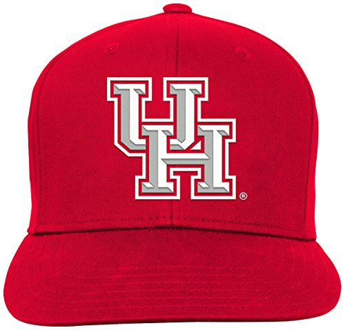 competitive price d322d 1c595 ... shop ncaa houston cougars youth boys team flat visor snapback hat red  youth one siz.
