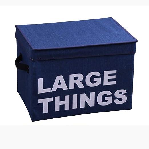 ZYZJR Caja de Almacenamiento de algodón y Lino, Caja de ...