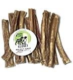 Sancho & Lola's USA 6-Inch Steer Sticks for Dogs / 12-Sticks/Human-Grade Charcuterie Style