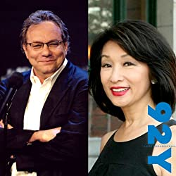 Lewis Black with Connie Chung