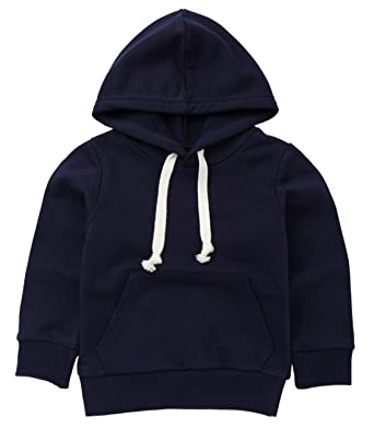 0268bf5ec LIELIESTAR Toddler Kids Plain Hoodie Long Sleeve Adustable ...