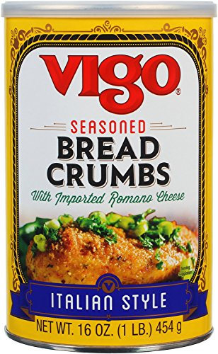 Vigo Italian Style Bread Crumbs, 16 Ounce (Pack of 12)