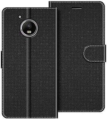 COODIO Funda Motorola Moto G5 con Tapa, Funda Movil Motorola Moto ...