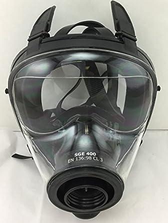 Israel y militar de la OTAN SGE 400 Gas Máscara Respirador fabricado en 2017