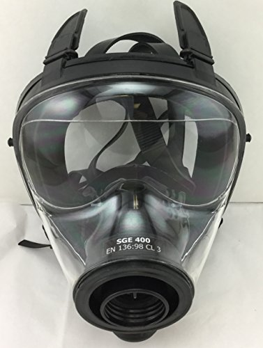 Israeli & NATO Military SGE 400 Gas Mask Respirator Made in 2017 by DISKIN (Image #3)