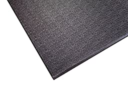 Supermats Heavy Duty P.V.C. Mat Ideal for Spinning Bikes (24-Inch x 46-Inch)