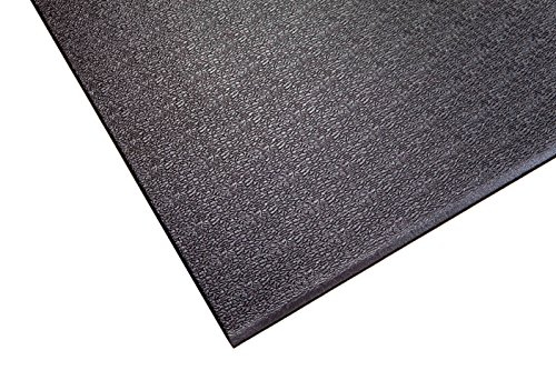 Supermats Heavy Duty P.V.C. Mat Ideal for Indoor Cycles and Exercise Bikes