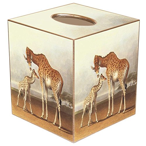 Giraffe Paper Mache Tissue Box Cover