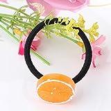 Pyrsun(TM) Stylish Fruit Slice Multi-Patterns Hair Accessories Girl Women Elastic Hair Band Rubber Headbands Scrunchy Cute Gum for Hair