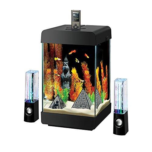 Aqueon Jukebox LED Fish Tank Aquarium Kit, 5 Gallon