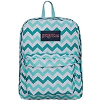 JanSport Superbreak Aqua Dash Zou Kiss