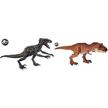 Juguetes Y Juegos Coches Y Figuras Dinosaurio De Juguete Jurassic World Dinosaurio De Juguete Indoraptor Luces Y Sonidos Mattel Fmy70 Mattel Fly53 Superataque Del Tyrannosaurus Rex Clab64 Fr El indoraptor es la obra más reciente del doctor wu y es uno de los dinosaurios más aterradores y letales jamás creados, ya que combina los rasgos del malvado indominus rex con los del temible velociraptor. superataque del tyrannosaurus rex clab64 fr
