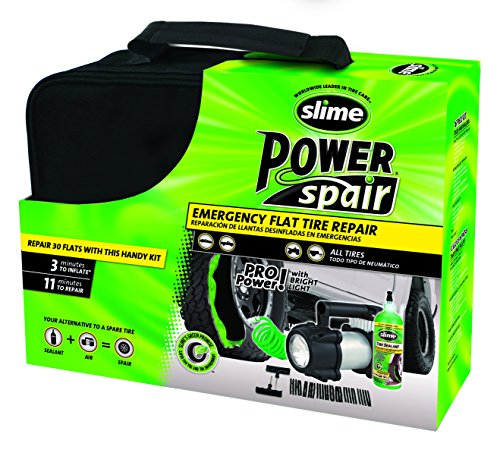 Slime 70004 Power Spair Tire Repair Kit