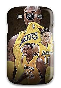 DanRobertse Galaxy S3 Hybrid Tpu Case Cover Silicon Bumper Los Angeles Lakers Nba Basketball (43)