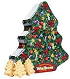 Walkers - Pure Butter Mini Shortbread Christmas Trees - Tree Tin...