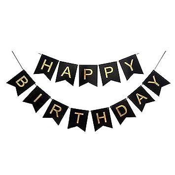 TrifyCore Happy Birthday Banner Feliz Cumpleaños Pancartas ...