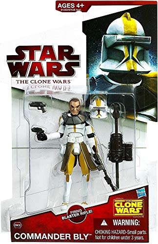 - Star Wars 2009 Clone Wars Animated Action Figure CW No. 39 Commander Bly [Toy]