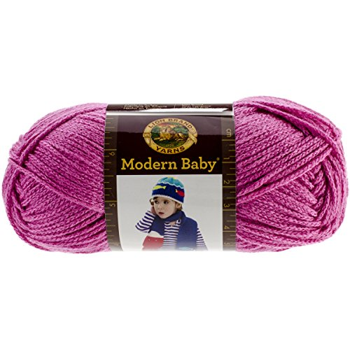 Lion Brand Yarn 924-102 Modern Baby Yarn, Pink