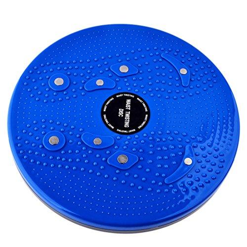 Waist Twisting Disc Figure Trimmer Fitness Board-(Blue) - 6