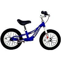 Grupo K-2 Bicicleta Sin Pedales De Equilibrio para Niños con Cuadro de Acero Resistente y con Freno Trasero y Manillar…