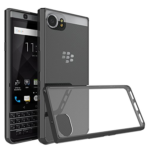 BlackBerry KEYone Case Cover, CiCiCat Slim Hard PC Back Cover Shell Case, [360 Degree Drop-Proof] Stylish Strong Thin Protective Case (Black, BlackBerry KEYone 4.5'')