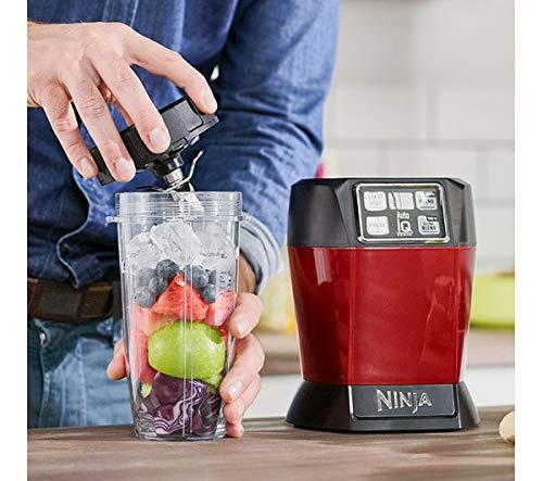 Nutri Ninja Auto-IQ Blender, 1000W, 1 Jar (Red) 4