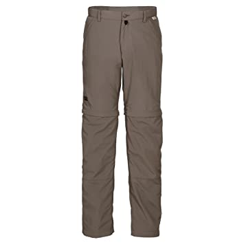 Jack Wolfskin Men's Canyon Zip Off Pant, Siltstone, ...