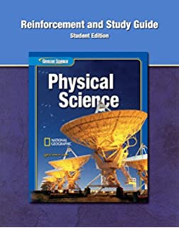 Glencoe physical science mcgraw hill education 9780078779626 glencoe physical iscience reinforcement and study guide student edition physical science fandeluxe Gallery