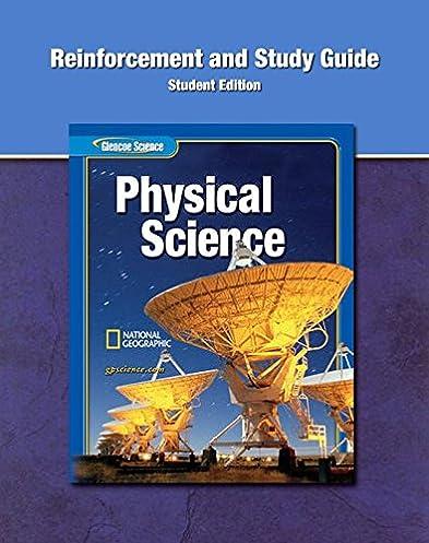 glencoe physical iscience reinforcement and study guide student rh amazon com Teacher Cartoon Teacher's Edition Lesson Study