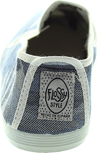 Flossy Cambrils, Scarpe stringate donna blu Blue