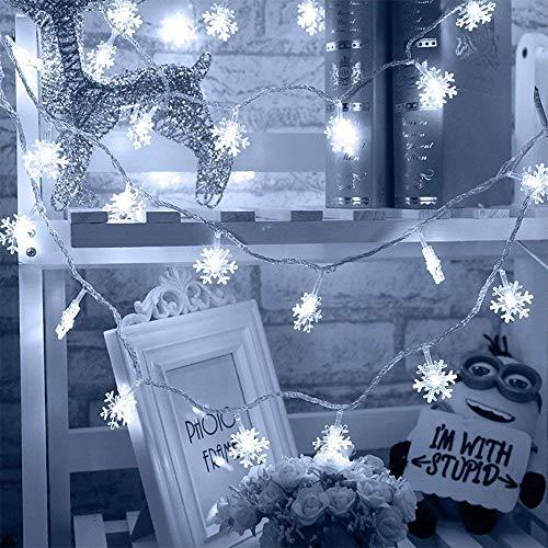Led Snowflake Light String in US - 5
