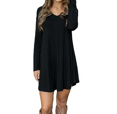 Langarm Kurz Minikleid Damen Kleid Covermason 8wOXPNkn0
