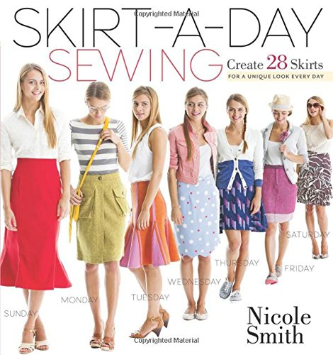 SkirtaDay Sewing: Create 28 Skirts for a Unique Look Every Day