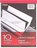 """Mead 40112 - Carbon Paper Tablet - 8.5"""" x"""