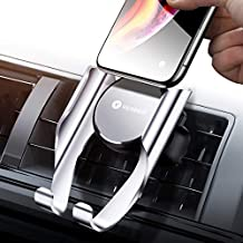 VICSEED Car Phone Mount Vent Cell Phone Holder for Car, Handsfree Mobile Phone Car Mount Cradle Compatible iPhone Xs Max XR X 8 7 Plus, Compatible Samsung Galaxy Note9 S9 S8 Plus LG Google etc.