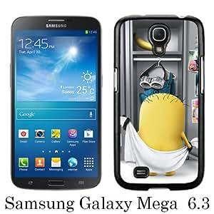 Beautiful Classic minion Black Case For Samsung Galaxy Mega 6.3 i9200 i9205