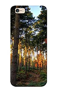 Flyingangela 03b6aeb5035 Protective Case For Iphone 6 Plus(shades Of Autumn In The Forest) - Nice Gift For Lovers