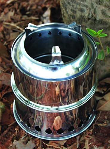 SilverFire Economy Scout Backpack Bug Out Bag Gasifier Twig Stove