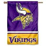 Minnesota Vikings Two Sided House Flag