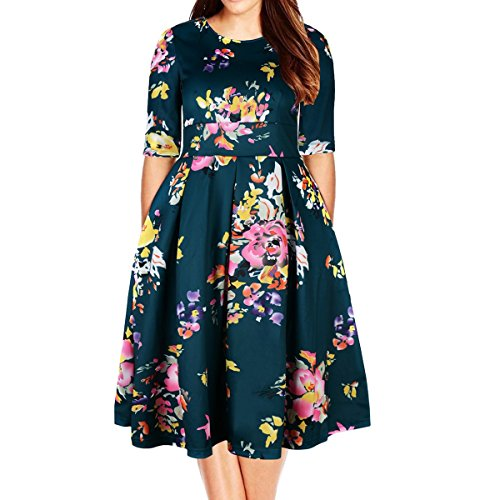 Samtree Plus Size Dresses 2019