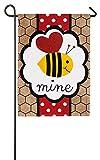 Evergreen Enterprises 14B3573 Valentine's Be Mine Garden Flag