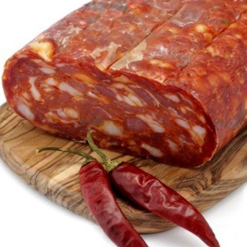 6 opinioni per Spianata Schiacciata Artigianale Salame Piccante Stagionato Trancio 400 gr