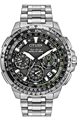 Citizen Men's 'Navi Series' Quartz Stainless Steel Casual Watch, Color:Silver-Toned (Model: CC9030-51E)