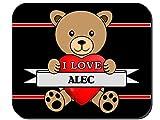 I Love Alec Mouse Pad
