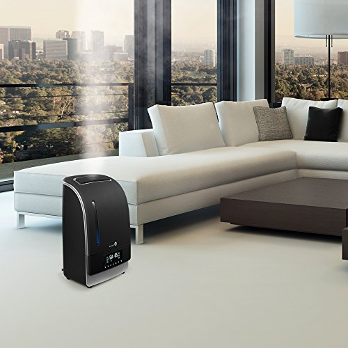with led display taotronics ultrasonic air humidifiers for bedroom