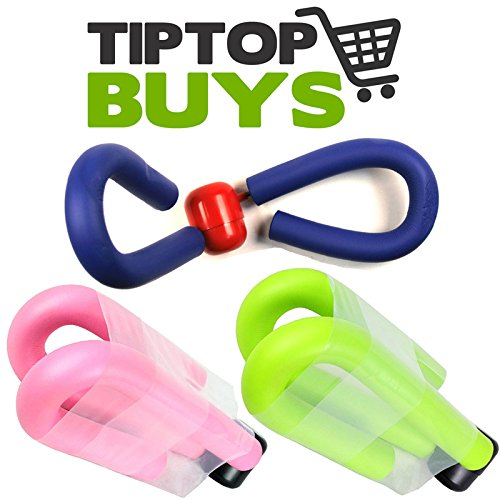 Blue, Pink & Green Thigh Exerciser Master Workout Tone Home Gym Equipment …